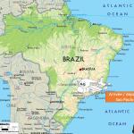 <b>Carte du Brésil - départ</b> <br />